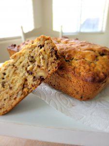 Gluten Free banana bread, gluten free sugar free banana bread, vegan banana bread, banana bread easy banana bread, easy gluten free banana bread